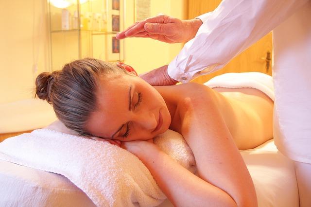 klídek při masáži
