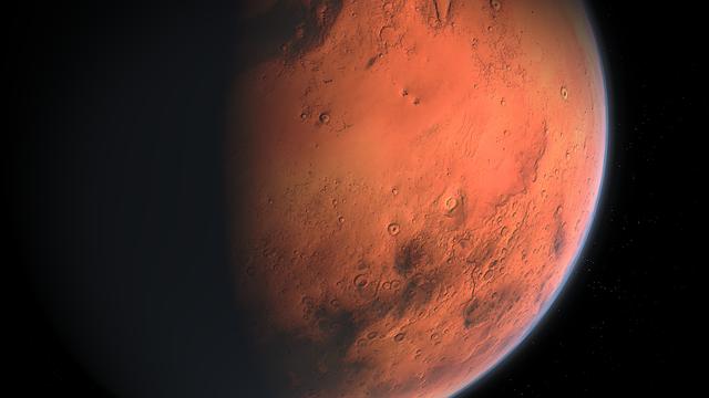 odvrácená strana Marsu