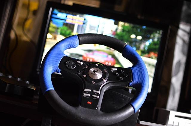 herní volant